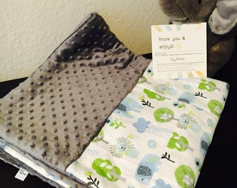 """Baby patchwork blanket collection """"baby Safari"""