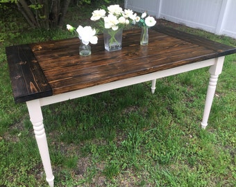 The Tricia, 5 ft Farmhouse Table