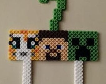 Minecraft cake topper (Stampy Cat, Steve, Creeper)