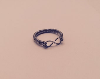 Wire Wrapped Infinity Ring