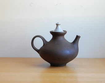 Danish Modern Signed Ceramic Teapot- Ditlev Danmark