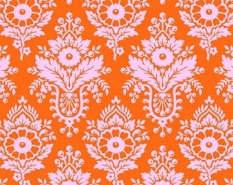 SALE Heather Bailey Up Parasol Lulu in Persimmon Fabric by the Yard