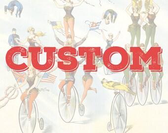 Poster & T-shirt Customization