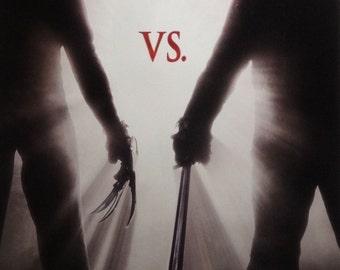 Freddy VS Jason 27x40 One Sheet Movie Poster