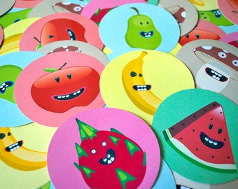 Fruit and Veggie Stickers