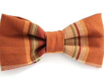 Mens Brown Bow Tie-Casual Style For Guys-Mans Accessory