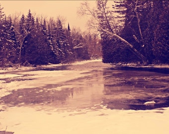 Photography Print- Thin Ice (1, 2, 3, 4)