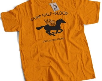 Camp Half Blood CHB Percy Jackson Demigod Kids Youth T Shirt Small to X Large