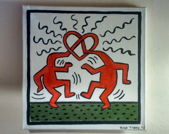 Tribute Keith Haring #2