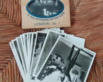 Vintage snapshots(12) of London Set I
