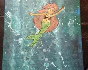 Original Acrylic Painting - Under the Sea