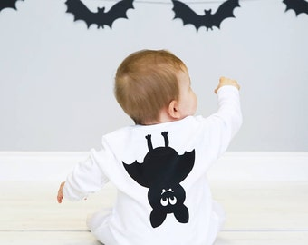 Baby Halloween Costume Bat -Bat Halloween Costume - Bat Halloween Baby Sleepsuit - bat Costume