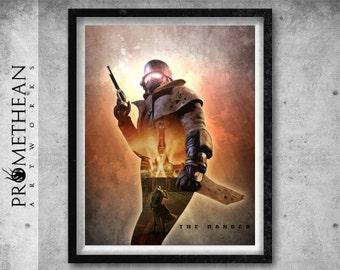 Fallout New Vegas inspired The Ranger Print - 3 FOR 2