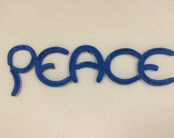 "Horseshoe ""PEACE"""