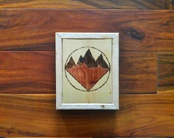 Mountain heartbeat series art