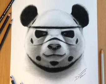 Panda storm trooper