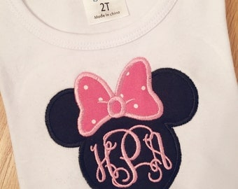 Minnie Mouse Disney Onesie or Shirt