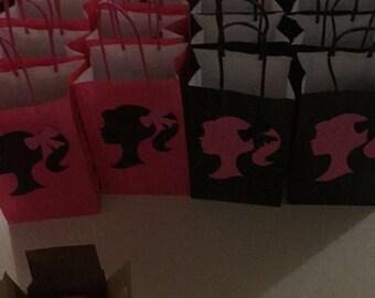 Barbie treat bags