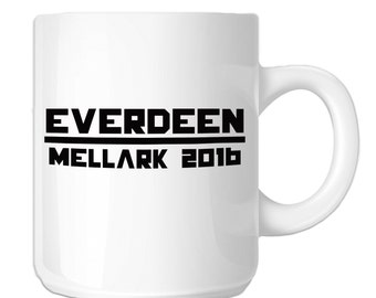Everdeen Mellark 2016 Hunger Games Inspired (SP-00681) 11 OZ Novelty Coffee Mug