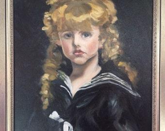 Girl in Sailor Blues