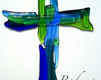 Glass crucifix