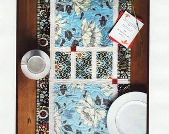 Anna Banana table runner/placemat pattern, Pink Chalk Studio