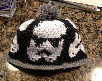 Stormtrooper Beanie with Pompom