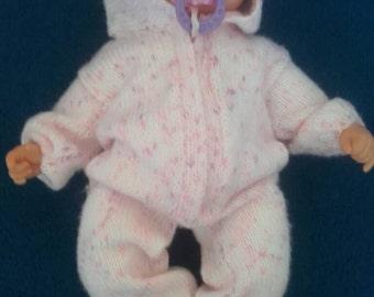 Larg Baby doll or prem romper suiet