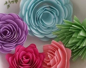 Spring Fling Paper Flowers