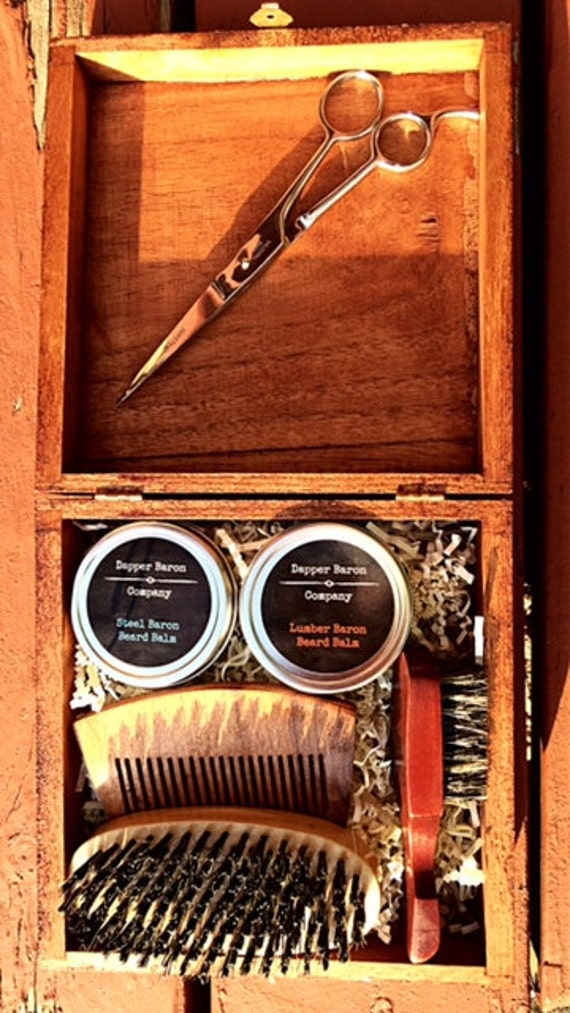 beard grooming kit beard care kit beard care box premium. Black Bedroom Furniture Sets. Home Design Ideas