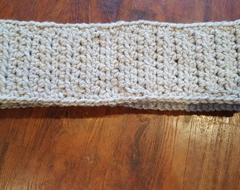 Custom crochet scarf