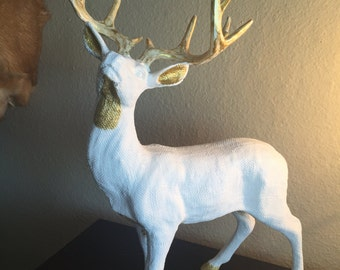 Deer Figure (Goldie) 12 x 17 inches