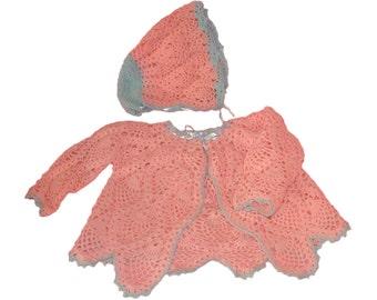 Pink Pineapple Sweater Set