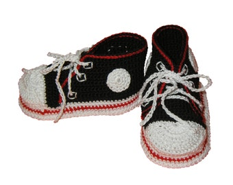 Crocheted Baby Running Shoes