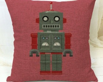 Robot Cushion Including FREE Inner