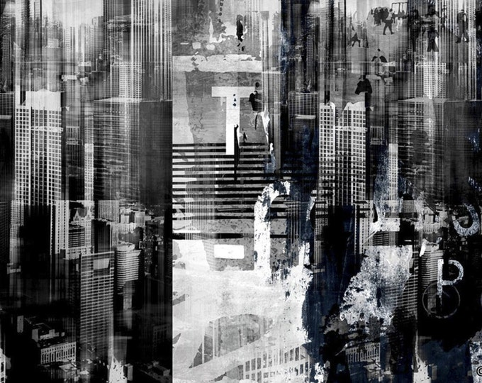 CHICAGO SKY II by Sven Pfrommer - Artwork is ready to hang