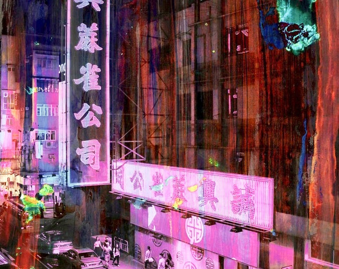 HONG KONG Streets V by Sven Pfrommer - Artwork is ready to hang