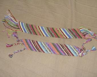 bracelet braided. bauble.