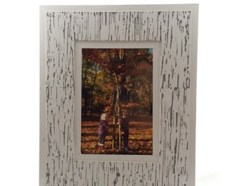 Photo Frame with Lino Cut Texture