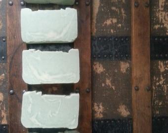 LAVENDER PEPPERMINT SOAP All Natural Soap, Handmade Soap, Unscented Soap, Cold Process Soap, Vegan Soap