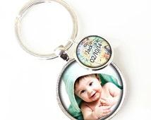 Photo Keyrings, Picture Keyring, Custom Photo Keyring, Photo Key Ring, Your own Photo, Anniversary Keyring, Custom Keyring, Photo Keychains