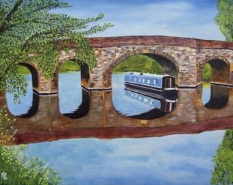 Pershore Bridge Giclee Print