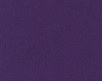 Kona Cotton Purple half yard, Robert Kaufman, designer fabric 100% cotton fabric