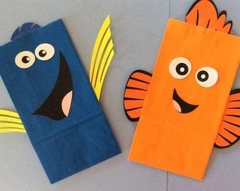 Dory & Nemo Party Bags