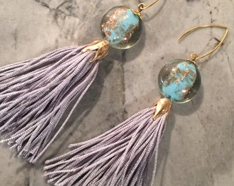 Elegant Tassle Earrings