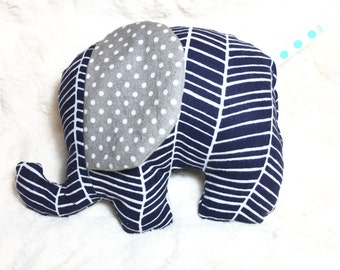 Stuffed Elephant Baby Toy - Ready to ship