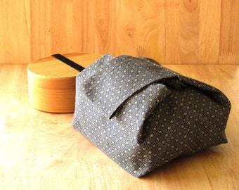 Japanese style lunch bag .Bento bag.Handmade lunch bag.Japanese fabric. lunchable. Eco friendly lunch bag.Limited edition.gift women.