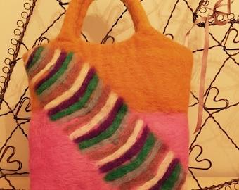 Handbag - Vintage Nepalese Wool Handmade Bag