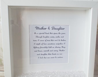 Mother and Daughter box frame