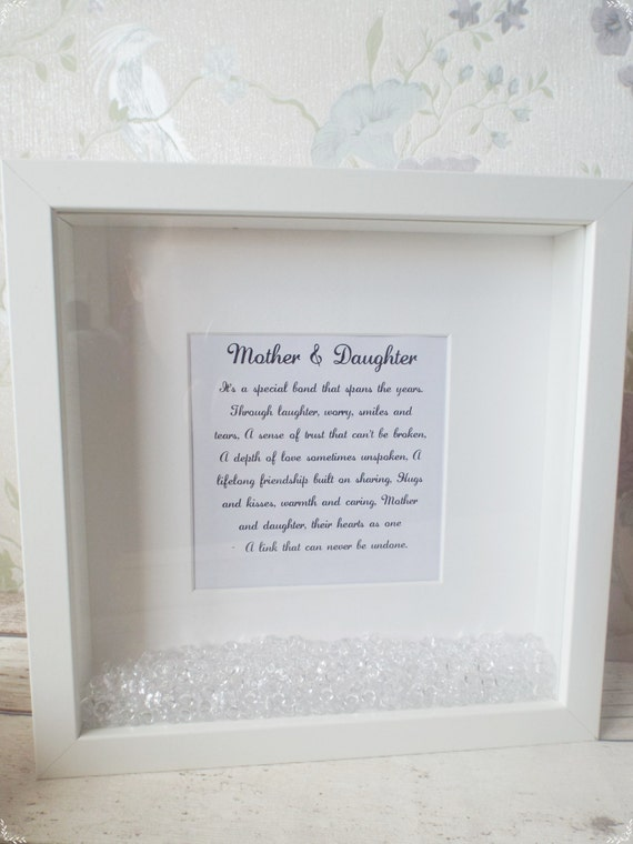mother daughter frame gift for daughter gift for mother gift for mum gift for mam frame mothers day gift from littlemissb84 on etsy studio - Mother Daughter Picture Frame